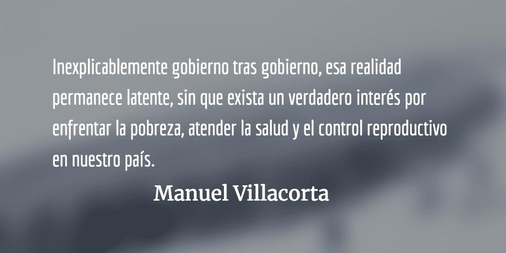 La pobreza infantil y la farsa oficial. Manuel Villacorta.