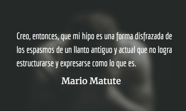 Retazo expositivo acerca del hipo. Mario René Matute.