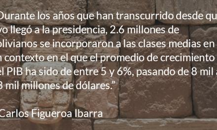 Evo y la democracia en Bolivia. Carlos Figueroa Ibarra.