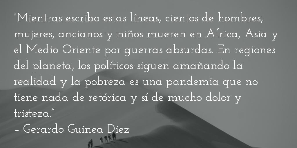 """""""Avancen hacia atrás"""". Gerardo Guinea Diez."""