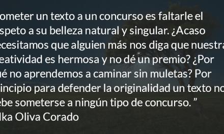 Insociable. Ilka Oliva Corado.