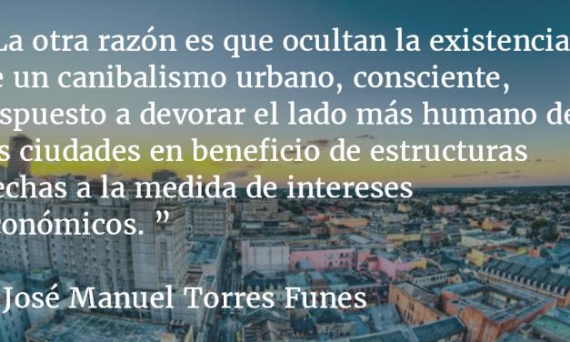 Los caníbales. José Manuel Torres Funes.