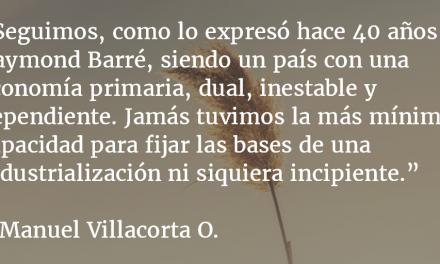 Economía de postre y extorsión. Manuel R. Villacorta O.