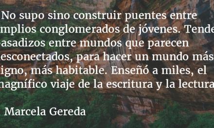 Fernando Cardenal, maestro de humanismo y humildad. Marcela Gereda.