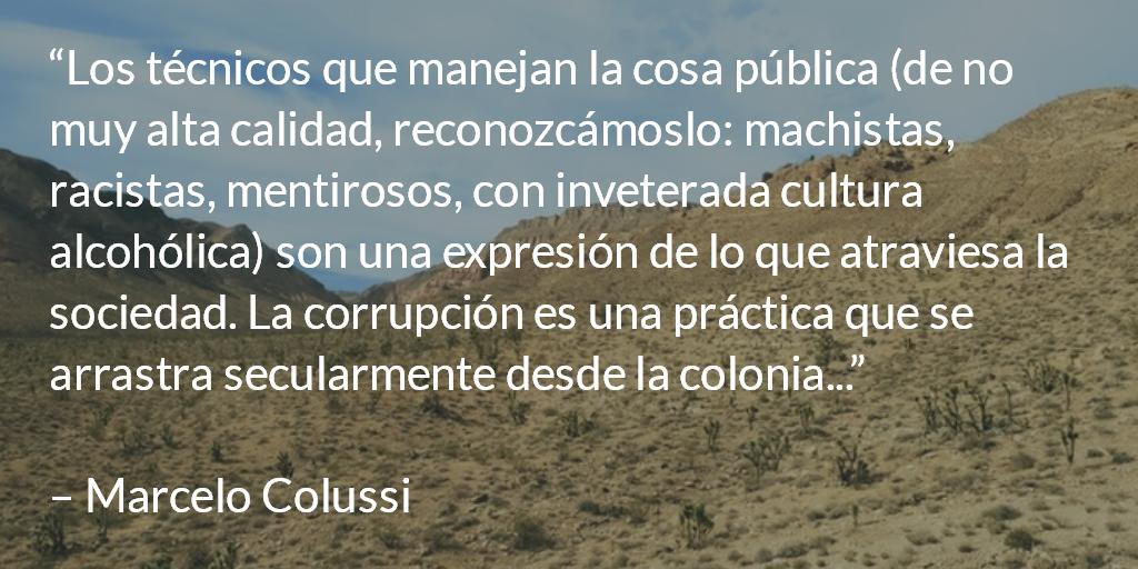 Los políticos ¿son todos despreciables? Marcelo Colussi