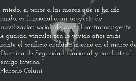 Maras y poderes ocultos. Marcelo Colussi.