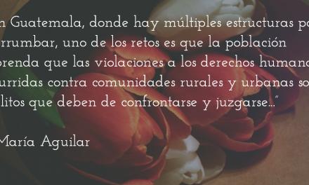 El silencio de las osamentas. María Aguilar.