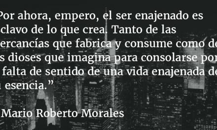 La miseria religiosa. Mario Roberto Morales.