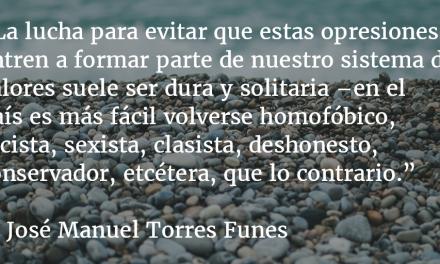 Palabras de odio. José Manuel Torres Funes.