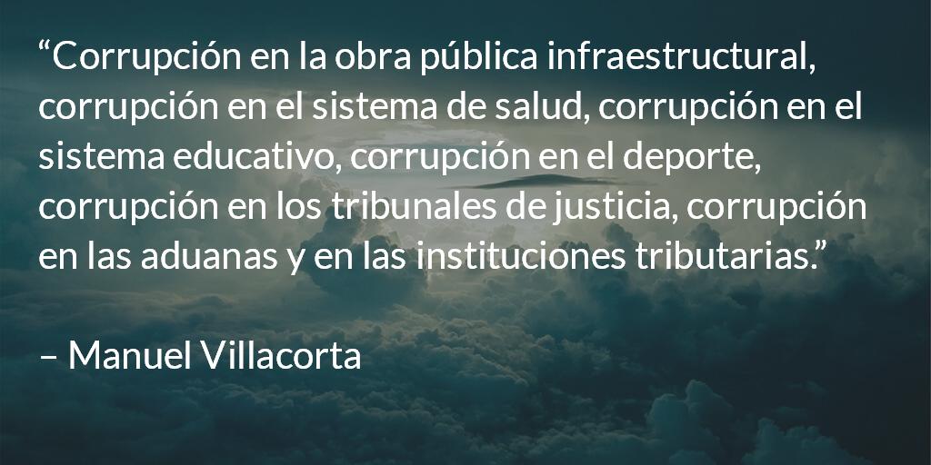 Guatemala, ¿fábrica de corruptos? Manuel R. Villacorta O.