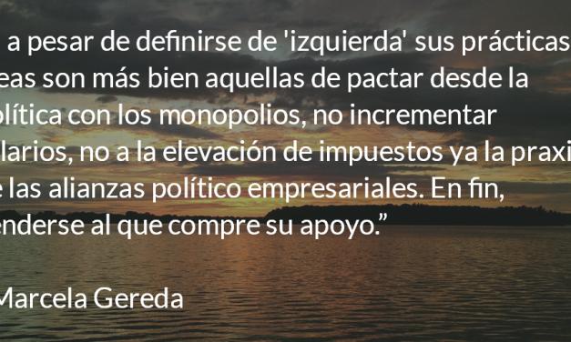 """""""El Chino"""" y la necesidad de refundar el Estado. Marcela Gereda."""