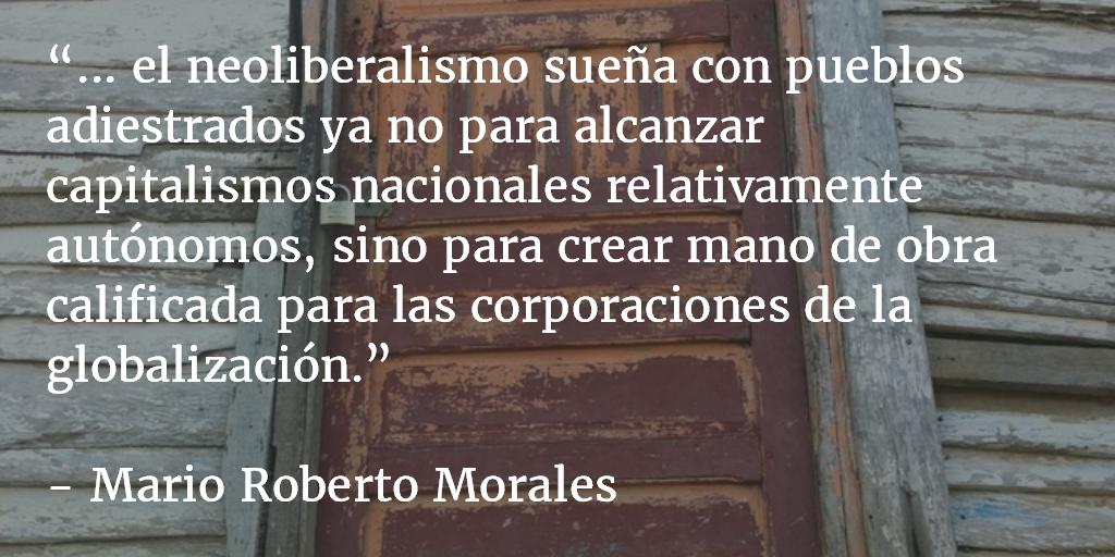 Sujeto crítico y cambio social (y 3). Mario Roberto Morales.