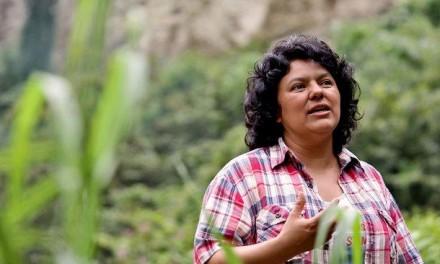 ¡Justicia! Frente al asesinato de Berta Cáceres. Irmalicia Velásquez Nimatuj.
