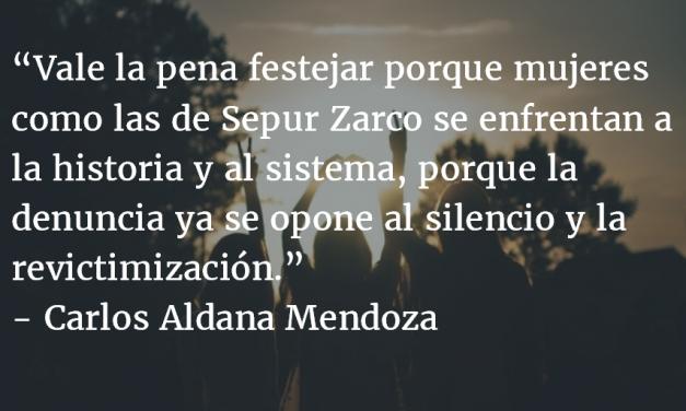 ¿Festejar? Carlos Aldana Mendoza