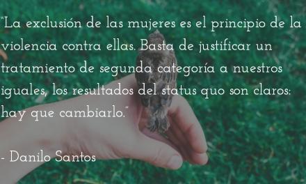 """Hombre pequeñito"". Danilo Santos."