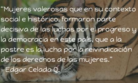 Herencia de matatigres. Edgar Celada Q.