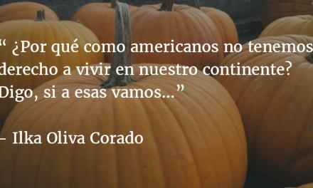 De América, yo soy. Ilka Oliva Corado.