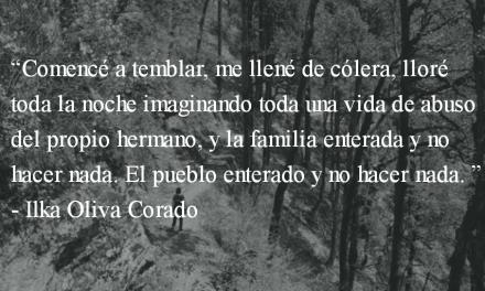 La tristeza de la tía Toña. Ilka Oliva Corado.