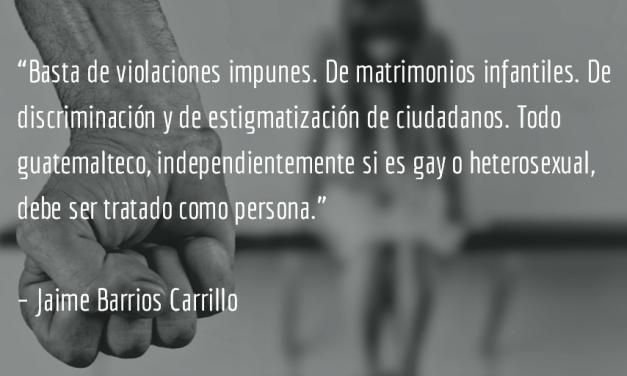 Violaciones y revelaciones. Jaime Barrios Carrillo.