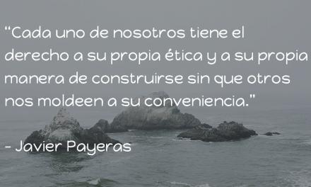 Un espacio en el ojo del huracán. Javier Payeras.