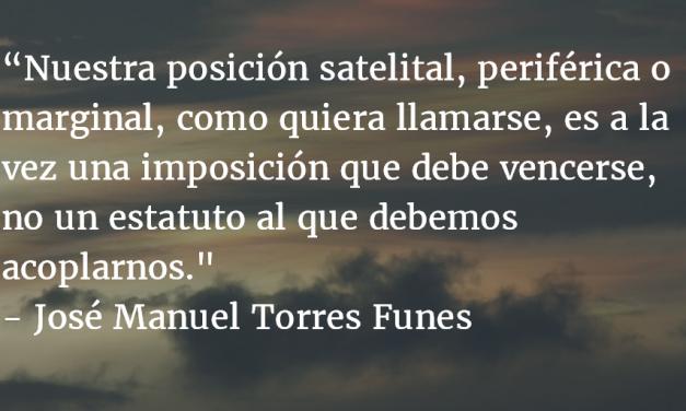 Sin belleza no hay Tragedia. José Manuel Torres Funes.