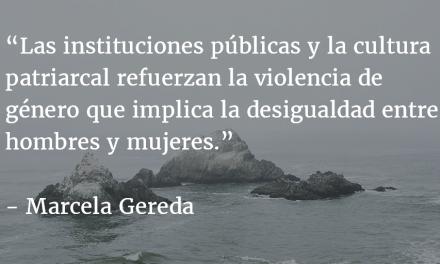 El Ministro de la Defensa y la cultura patriarcal. Marcela Gereda.