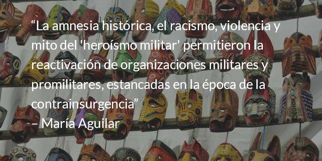 """El genocidio como proceso """"especial"""". María Aguilar."""