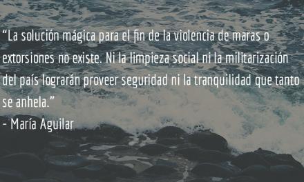 Sociedades monstruosas. María Aguilar.