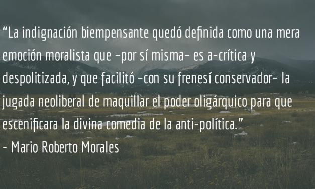 ¿Paranoia y teoría conspirativa? Mario Roberto Morales