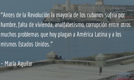 Las barreras de la historia. María Aguilar.