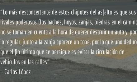 Topes. Carlos López.
