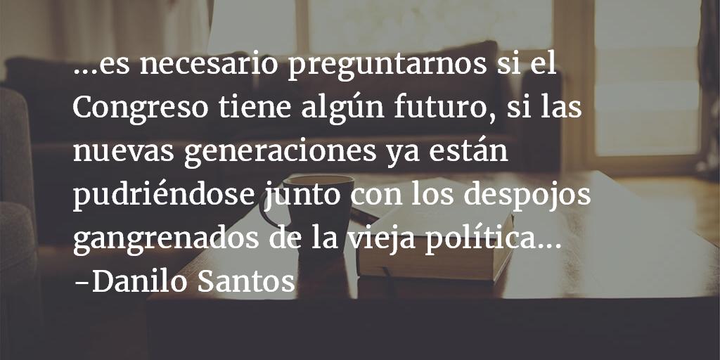 Autorretrato. Danilo Santos.