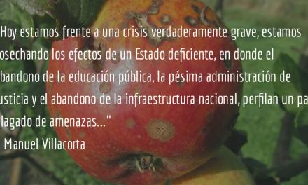 Déficit fiscal: ¿vivir de donaciones? Manuel R. Villacorta O.