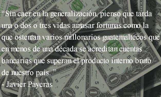 El tiempo de las cerezas. Javier Payeras.