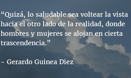 Como nubes lentamente. Gerardo Guinea Diez.