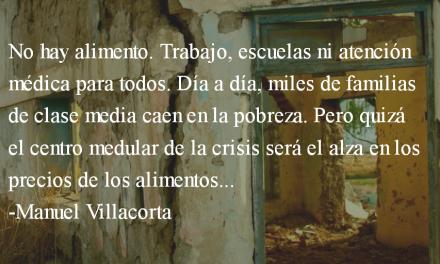 El estallido social en Guatemala. Manuel Villacorta.