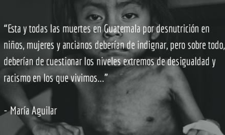 Guatemala en eterna crisis. María Aguilar.