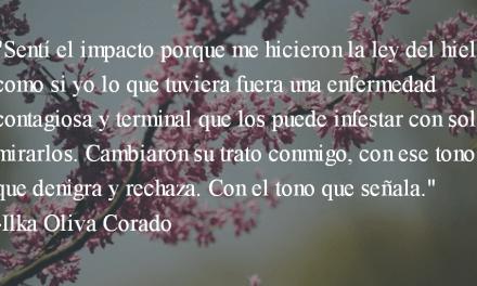 Homosexual. Ilka Oliva Corado.