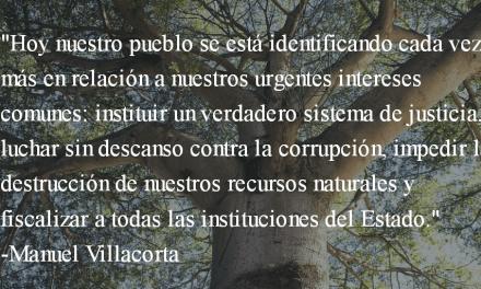 La esperanza avanza. Manuel Villacorta.