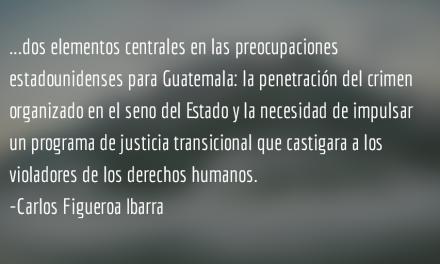 Guatemala en el pos2015. Carlos Figueroa Ibarra.