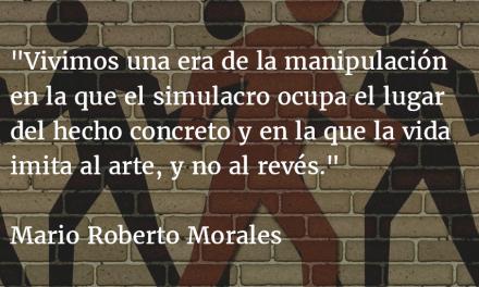 Autoengaño y criticidad. Mario Roberto Morales.