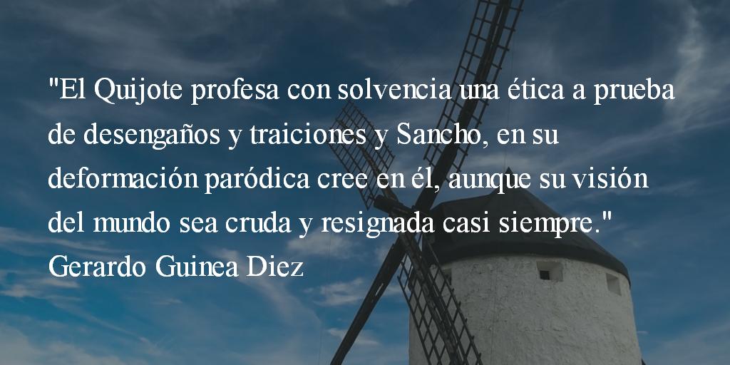 Quijoterías. Gerardo Guinea Diez.