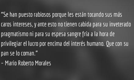 Panama Papers y Triángulo Norte. Mario Roberto Morales.