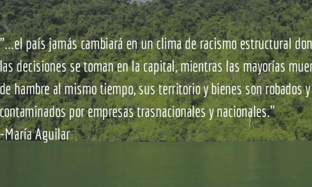 ¿Y Guatemala cambió? María Aguilar