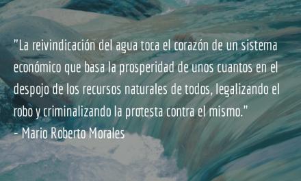 El sistema, no los políticos. Mario Roberto Morales.