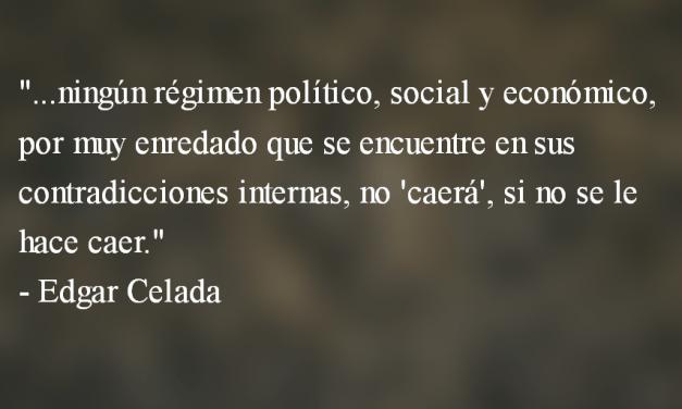 De hegemonía y sujeto social del cambio. Edgar Celada.