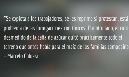 """""""Hay temor, pero debemos volver a trabajar para organizarnos"""". Entrevista de Marcelo Colussi."""