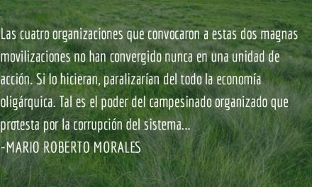 """Con la """"Guatemala profunda"""". Mario Roberto Morales."""