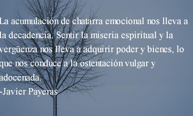 Claridad. Javier Payeras.