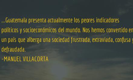 ¿Refundar un estado devorado? Manuel Villacorta